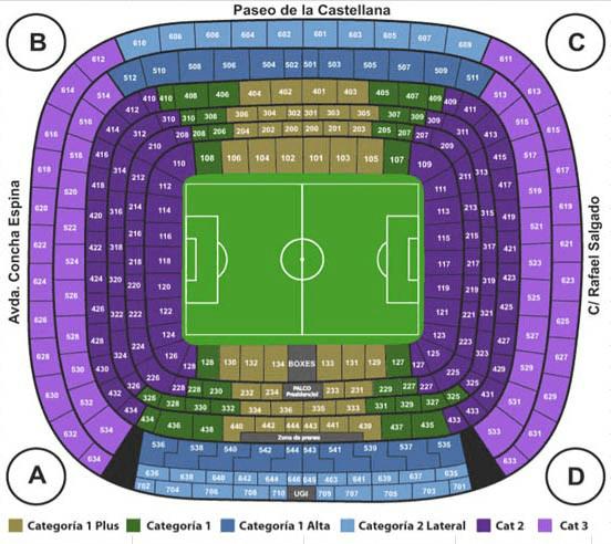 12 декабря 2018 - Стадион «Сантьяго Бернабеу» - Мадрид - Испания Реал ЦСКА купить билеты