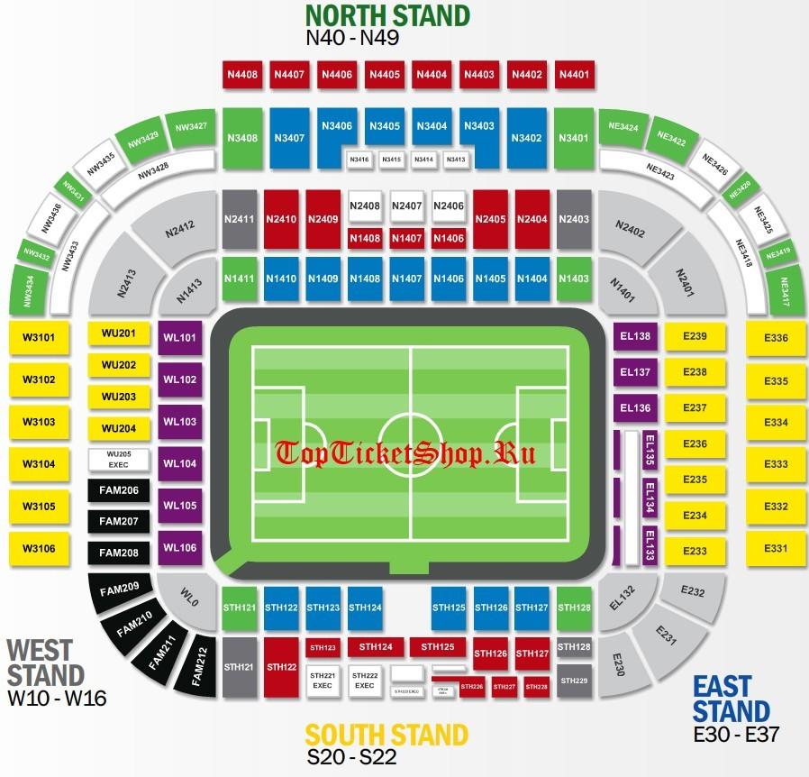 15 Апреля 2017 года матч Манчестер Юнайтед - Челси купить билеты