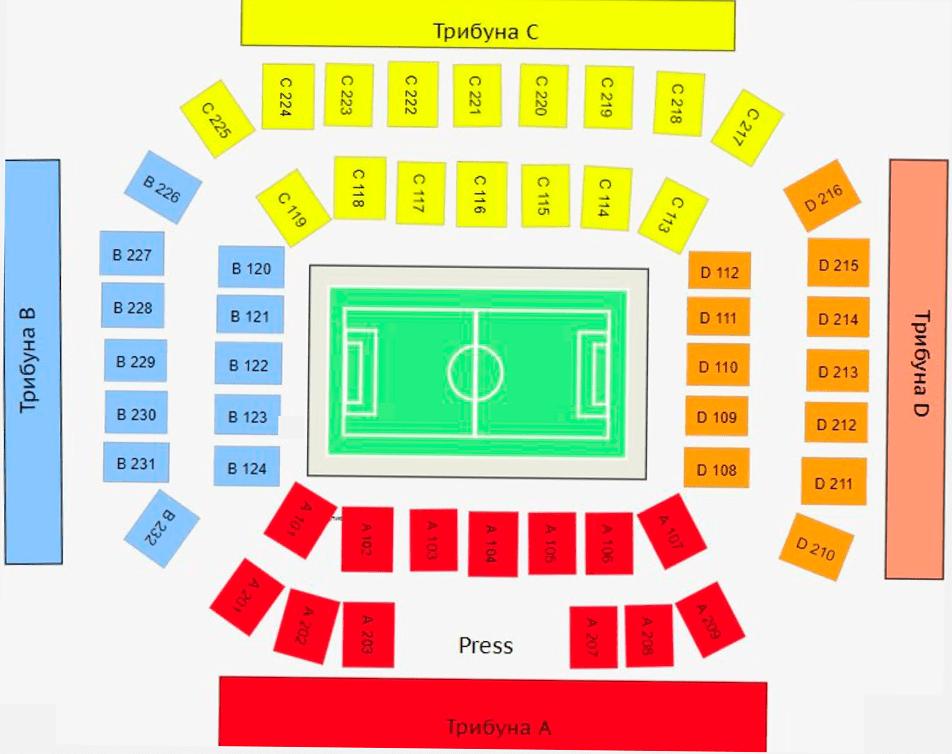 Билеты на Ротор — ЦСКА 1 ноября 2020 Волгоград Арена - Волгоград - Россия купить билеты